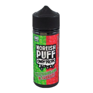 Moreish Puff Watermelon Cherry Shortfill 60ml E-Liquid